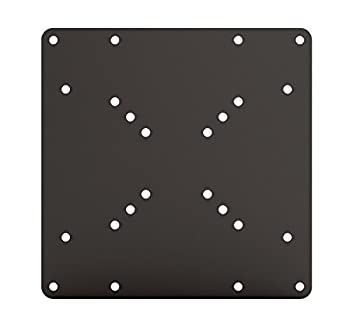 HumanCentric VESA Mount Adapter Plate for TV Mounts | Convert 75 x 75 and 100 x 100 to 200 x 200 mm VESA Patterns | Includes Hardware Kit
