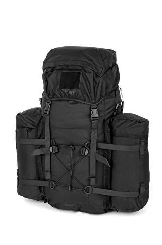 Snugpak | Bergen | 100L | Rucksack | Fully Detachable Side Pockets (Black)