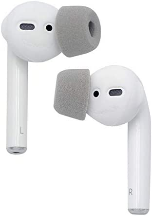 SoftCONNECT by Comply Soft Foam Tips for Apple AirPods Gen 1 2 and Apple EarPods Small 2 Pairs product image