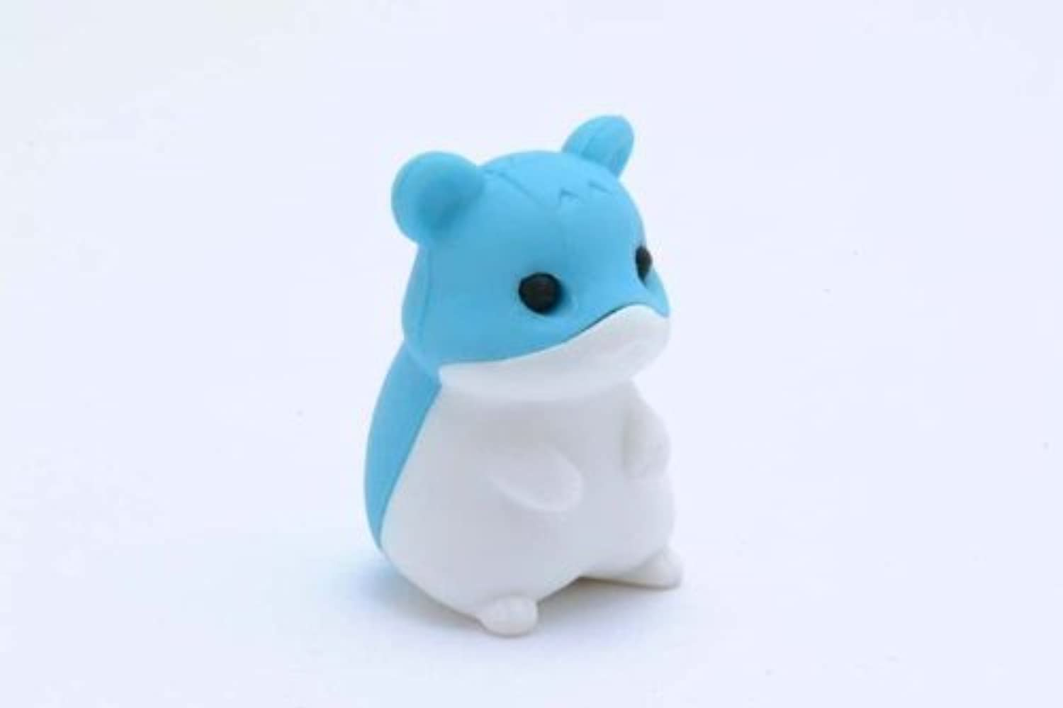 Iwako Gummy Mix And Match Collectible Eraserz - Fluffball The Guinea Pig In Blau by Iwako