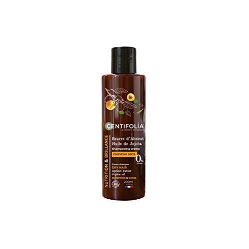 Centifolia Shampooing Crème Cheveux Secs Beurre d'Abricot et Huile de Jojoba Bio 200 ml