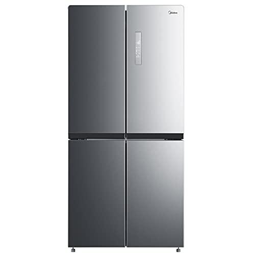 Midea MERM482FGF02 Multi Door Kühl-/Gefrierkombination/ 177,5cm Höhe / 83,3cm Breit/ 374 kWh/Jahr /329 L Kühlteil/163 L Gefrierteil/ NoFrost / PT Fresh / Twin Control