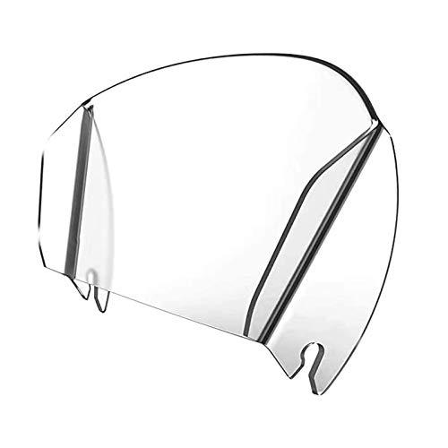 POHOVE Surtir Escudo para Metal Tazones Universal Surtir Tolva Transparente para Acero Inoxidable Bols Batidora Repuesto Soporte Batidora Accesorios Evitar Salpicaduras Fuera
