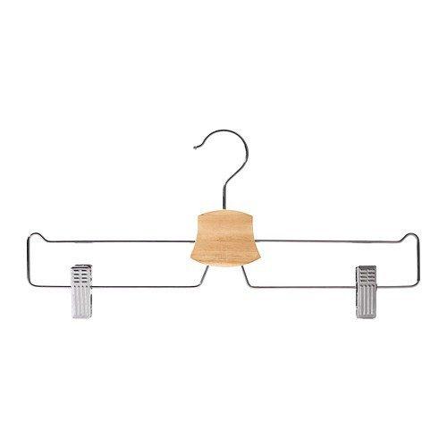 Ikea BUMERANG - Grucce cromate per gonne, 10 pezzi