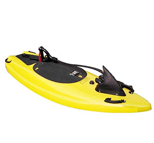 AHELT-J Tabla de Surf Eléctrica, Kickboard de Natación Eléctrica, Ayudas de Natación de la Tabla de Surf Somatosensorial Inteligente.