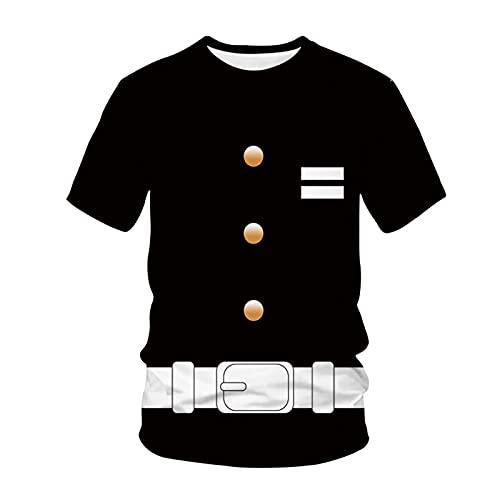 SSBZYES Camiseta para Hombre Camiseta De Verano De Manga Corta para Hombre Camiseta De Manga Corta para Hombre Camiseta Cómic para Camiseta De Gran Tamaño para Hombre Camiseta con Estampado De Cómic