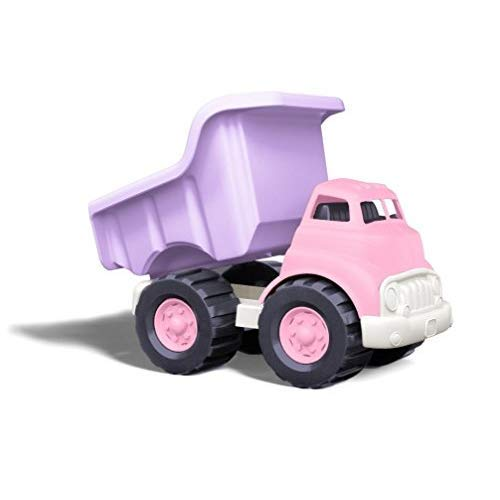 Green Toys Dump Truck - Frustration Free Packaging, Pink/Purple