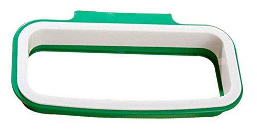 EOZY-Portatile Universale Spazzatura Sacchetto Cucina Clip Sacchetti Immondizia Cestino Telaio Supporto Bianco 22 * 12.5cm