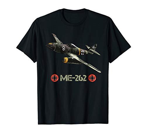 Deutsche Flugzeuge ME 262 Fighter Jet Memorabilia T-Shirt