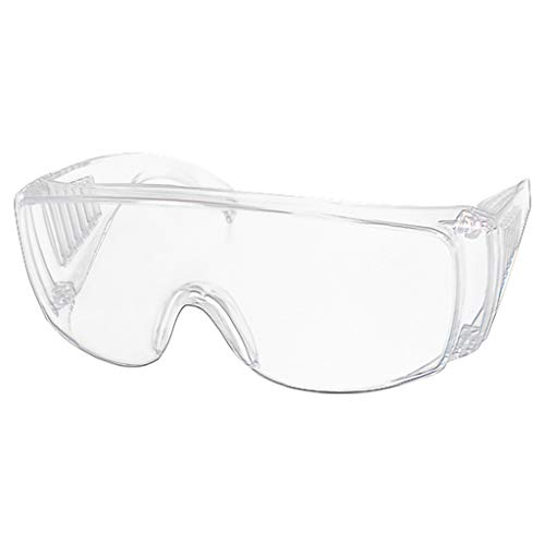Iulove Clear Safety Goggles Eye Protection Protective Lab Anti Fog Work Glasses