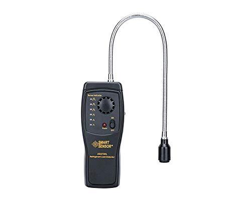 WCY Erdgas-Detektor Tragbare Gas Leaking Tester FCKW HFCKW HFKW Halogen Freon Gas Analyzer Tester Messgerät Sensor mit Ton Licht Alarm Einstellbar yqaae