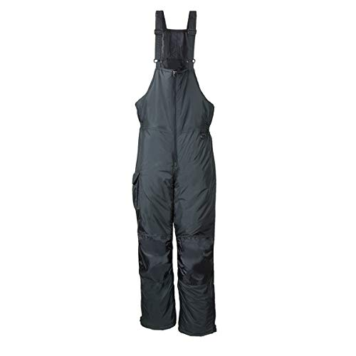 RPS Outdoors Mens Black Snow & Winter Bibs, Multiple Sizes