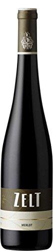 Weingut Zelt Merlot QbA 2015 trocken (3 x 0.75 l)
