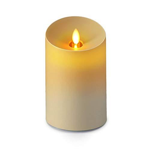 DKee Humidificador Difusor Casero De La Navidad del Humectador del Aceite Esencial del Plug-in De La Máquina De Aromatherapy De La Vela De La Simulación (Color : Yellow)