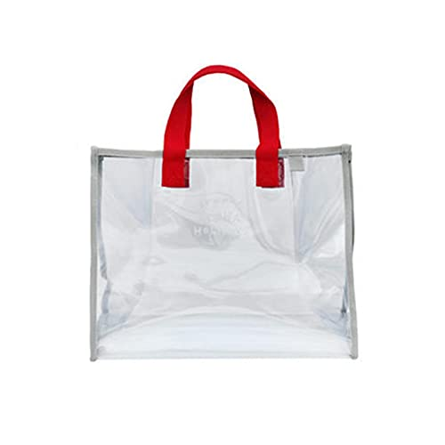 Huaxingda Bolsas de Aseo Transparente Neceser PVC Impermeable Mujer Bolsa de Cosmético Organizador de Viaje
