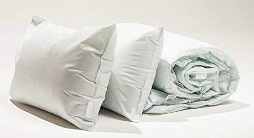 COMFORTNIGHTS Waterproof and Wipe Clean Duvet and Pillow Set King Size 225cm x 220cm - 10.5 tog