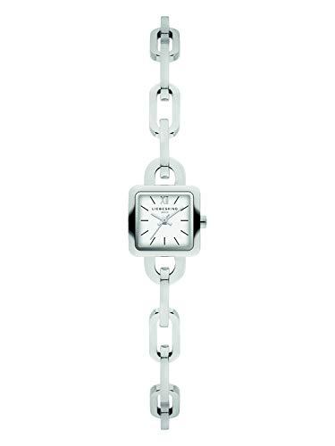 Liebeskind Berlin Damen Analog Quarz Uhr mit Edelstahl Armband