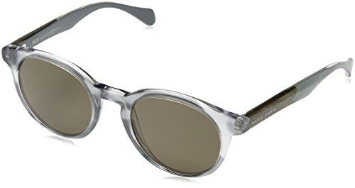 Hugo Boss BOSS0912S-1JXSP-50 HUGO BOSS Sonnenbrille BOSS0912S-1JXSP-50 Rund Sonnenbrille 50, Grau