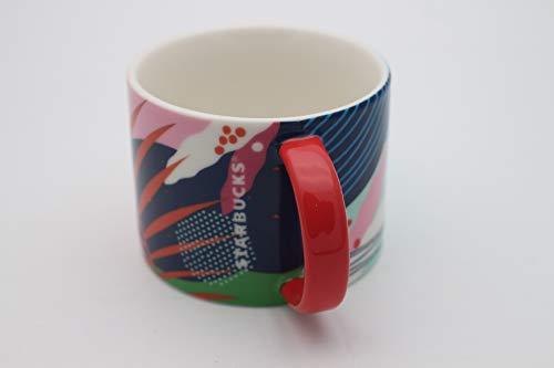 Starbucks Tasse Mug Palm Print Keramik Designer Sommeredition 2020