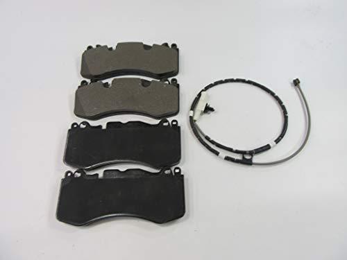 Aston Martin Rapide front brake pads & wear sensor TopEuro #301 PREMIUM QUALITY