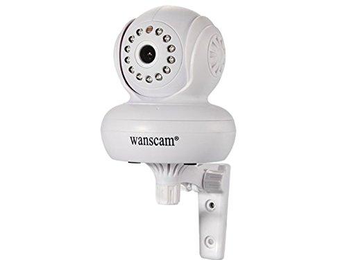 Wanscam–Inalámbrico WiFi CCTV cámara de red IP Audio Pan/Tilt P2P IR visión nocturna UK Store