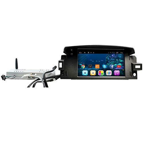 TOPNAVI Android 6.0 Navigation de Voiture pour Renault Latitude 2014 2015 2016 2017 Auto Radio Radio Voiture GPS WiFi 3G RDS Miroir Lien Bluetooth