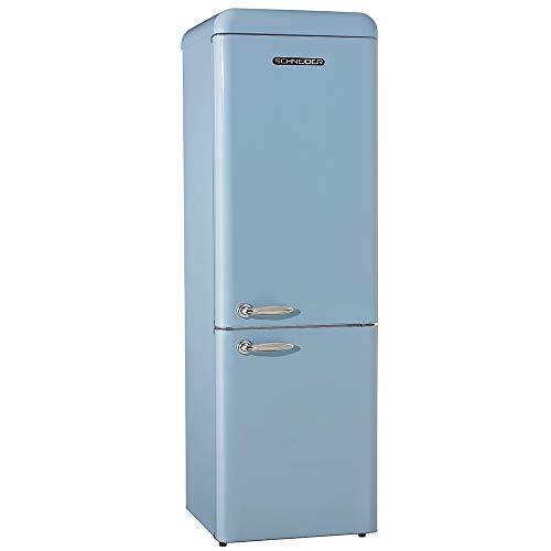 SCHNEIDER CONSUMER SL 300 SLB-CB A++ nevera y congelador Independiente Azul 300 L A++ - Frigorífico (300 L, N-ST, 42 dB, 4,5 kg/24h, A++, Azul)
