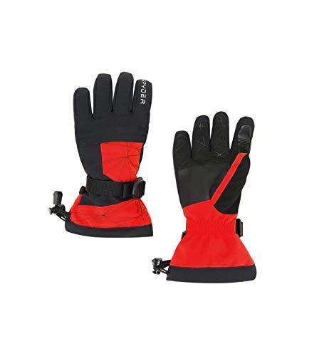 Spyder Overweb Skihandschuhe, Kinder, Vulkan, L