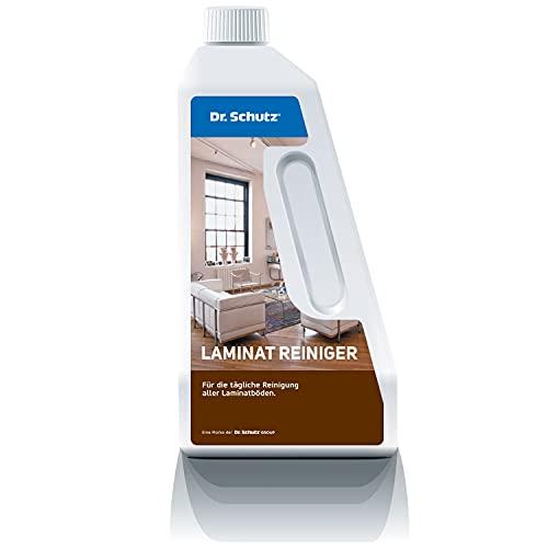 Dr. Schutz Laminatreiniger 750 ml | Laminat Bodenreiniger | Laminat streifenfrei reinigen | entfernt Schmutz, Fett und Schuhabriebe | Laminatboden Reiniger | auch für laminatbeschichtete Oberflächen