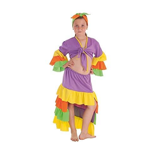 Creaciones Llopis Disfraz de Rumbera Varadero para niña