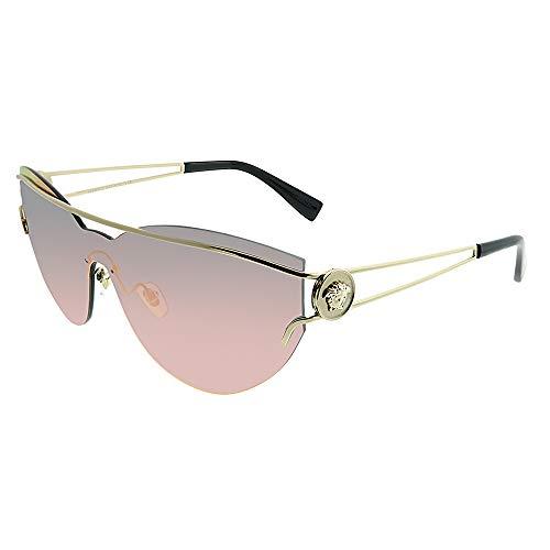 Versace 0Ve2186 Gafas de sol, Pale Gold, 59 para Mujer