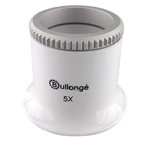 Uhrmacher-Lupe BULLONGÈ TB Pearl-White 5X - Arbeitslupe für die Uhrenreparatur
