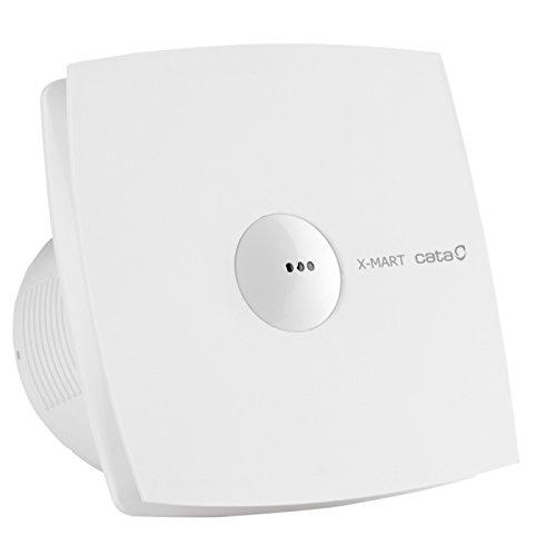 CATA X-MART 10 MATIC T Weiß - Ventilatoren (Weiß, Zimmerdecke, Wand, Kunststoff, 38 dB, 2500 RPM, 98 m³/h)