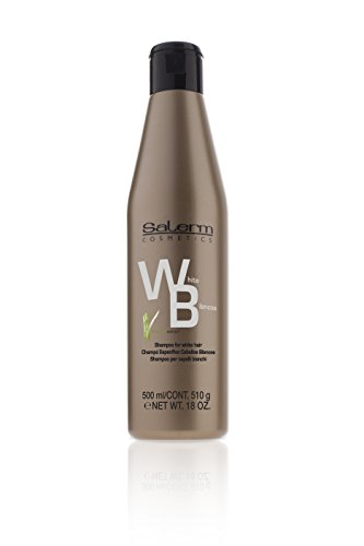 Shampoo Cabello Blanco marca Salerm