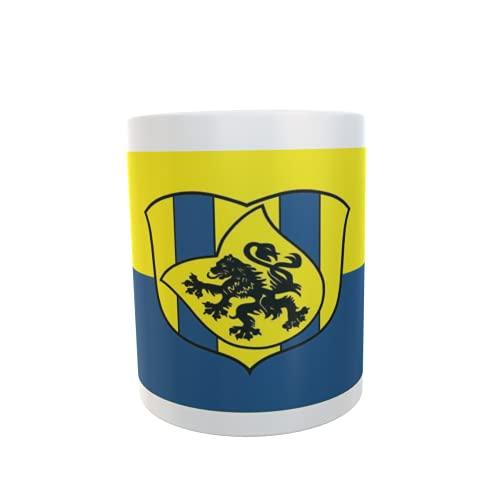 U24 Tasse Kaffeebecher Mug Cup Flagge Delitzsch