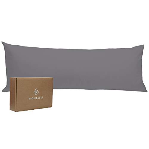 Bioweaves 100% Organic Cotton Body Pillow Cover