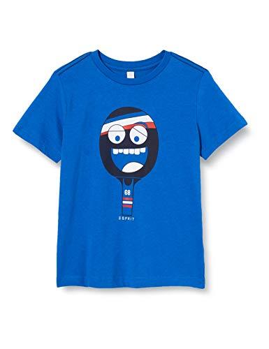 ESPRIT KIDS Jungen RQ1023402 SS T-Shirt, Blau (Electric Blue 445), (Herstellergröße: 128+)