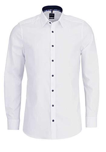 OLYMP 2050/54 Hemden, weiß(Weiss), Gr. 44