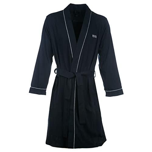 BOSS Herren Kimono BM Bademantel, Dark Blue403, XL
