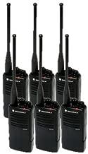 6 Pack of Motorola RDU4100 Two way Radio Walkie Talkies