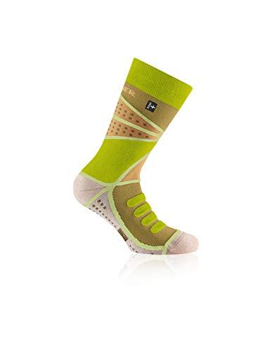 Rohner advanced socks   Wandersocken   Copper Trek l/r (44-46, Lemon)