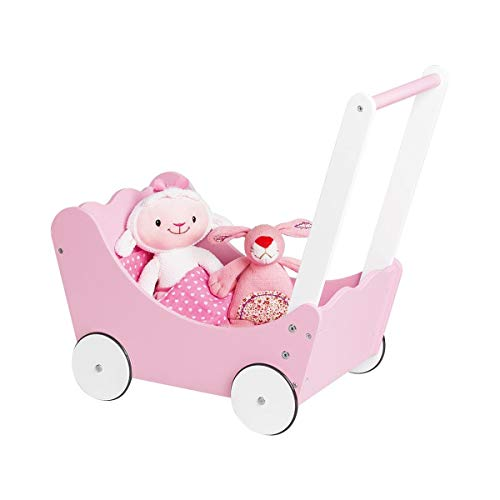 PINOLINO Puppenwagen Jasmin 4-TLG.
