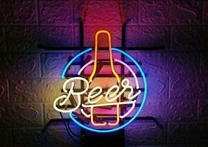 LeeQueen Creative Design Customized Beer 1 Max 66% OFF Neon Bottle Lamp New products world's highest quality popular Sign
