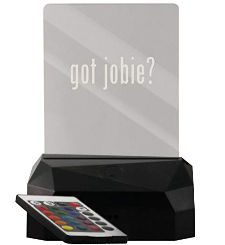 got Jobie? - LED USB Rechargeable Edge Lit Sign