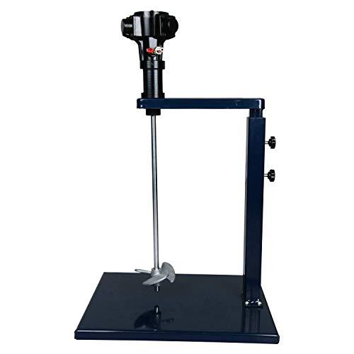 HJJH Pneumatische Automatische Farbmischer-Maschine, Mixer-Zufuhr, 5 Gallon Lackschüttelvorrichtung Air Agitator für Viskose Flüssigkeit Tinte Dye Chemicals Rührmaschine Blender