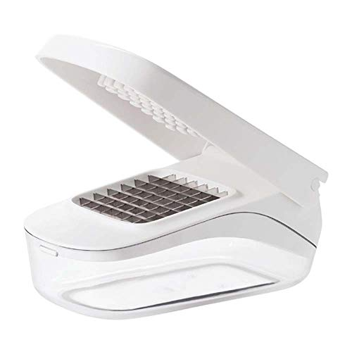 OXO Good Grips Vegetable Chopper with Easy-Pour Opening, White, 10.7 x 26.2 x 16.5 cm