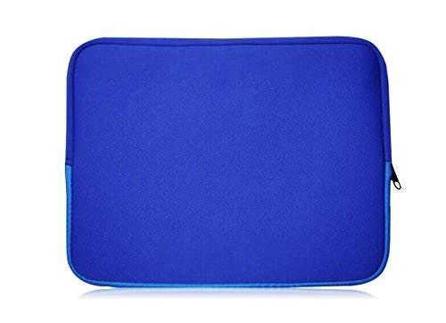 Sweet Tech Blau Neopren Hülle Tasche Sleeve Hülle Cover geeignet für ODYS Trendbook Next 14 Pro 14 Zoll HD Notebook (13-14 Zoll Laptop)