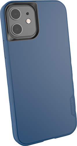 """Preisvergleich Produktbild Smartish passend für iPhone 12 / 12 Pro (6, 1"""") Slim Case Hülle - Kung Fu Grip Bumper - Leichte,  schlanke Schutzhülle (Silk) Cover - Blues on The Green blau"""