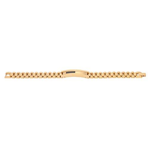 DAUERHAFT Aleación de Acero Inoxidable Pulsera Elegante Pulsera de Oro para Usar y Combinar Accesorios de joyería Buen Mantenimiento Pulsera de Moda Material de Metal