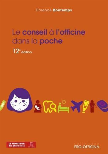 LE CONSEIL À L'OFFICINE DANS LA POCHE, 12E ÉDITION